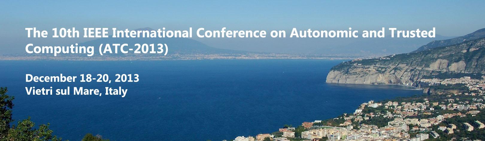ATC 2013, 18-20 dicembre 2013, Salerno