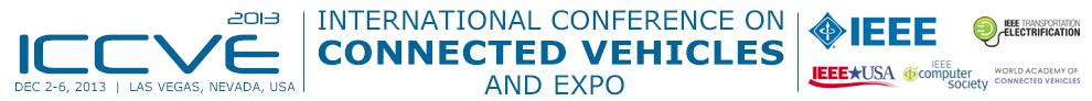 Notizie dal mondo della Smart Mobility – ICCVE 2013